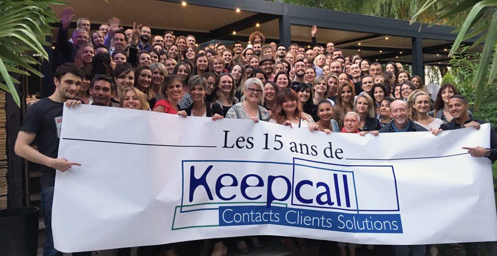 Anniversaire de Keepcall : 15 ans !